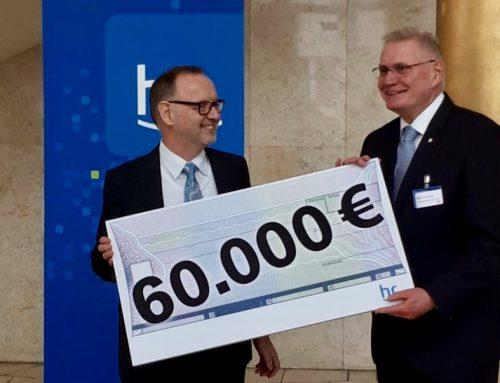 hr-Weihnachtsspendenaktion bringt 60.000 Euro