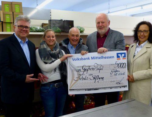 Schulz-Stiftung spendet 5.000 Euro