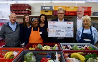 E.ON spendet 5.000 Euro für die Tafel Gießen