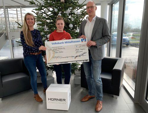 Hürner Schweißtechnik GmbH spendet an die Tafel Gießen
