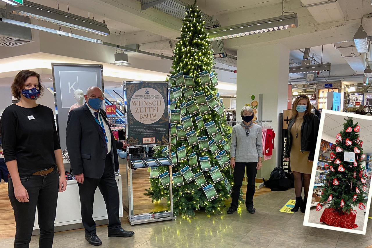Weihnachtswunschbaum-Aktion gestartet